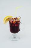 Bebida caliente reflexionada sobre del vino Imagen de archivo libre de regalías