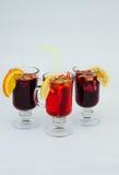 Bebida caliente reflexionada sobre del vino Fotos de archivo
