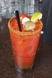 Bebida clássica de Caesar Fotografia de Stock