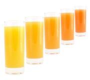 Bebida coloreada Imagen de archivo libre de regalías