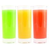 Bebida coloreada Imagenes de archivo