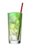 Bebida coloreada multi. Coctel y steerer Fotografía de archivo libre de regalías