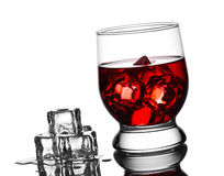 Bebida com gelo ilustração royalty free
