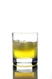 Bebida con el cubo de hielo Imagen de archivo libre de regalías