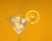 Bebida con el limón Fotos de archivo libres de regalías