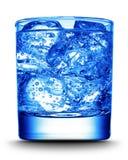 Bebida con el primer del hielo Fotografía de archivo
