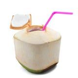 Bebida da água do coco Foto de Stock Royalty Free