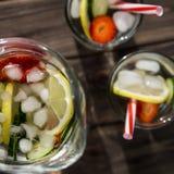 Bebida da dieta com gelo Sem calorias fotos de stock royalty free