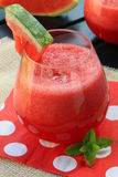 Bebida da melancia Imagem de Stock