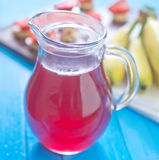 Bebida da morango Foto de Stock Royalty Free