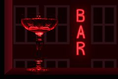 Bebida da noite fotografia de stock royalty free