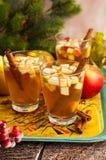 Bebida da queda e do inverno imagem de stock