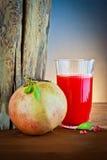 Bebida da romã e do suco Imagens de Stock