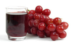 Bebida da uva Foto de Stock