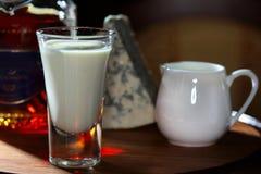 Bebida de aquecimento Fotografia de Stock