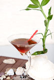 Bebida de bambú Foto de archivo