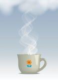 Bebida de cocido al vapor al vapor caliente Imagen de archivo libre de regalías