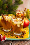 Bebida de la caída y del invierno Imagen de archivo
