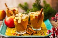 Bebida de la caída y del invierno Foto de archivo