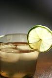 Bebida de la cal imagenes de archivo