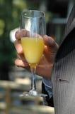 Bebida de la celebración imagen de archivo libre de regalías