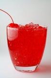 Bebida de la cereza Fotografía de archivo