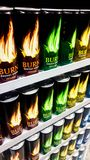 Bebida de la energía imagen de archivo libre de regalías