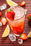 Bebida de la fresa Fotografía de archivo libre de regalías
