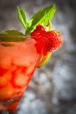 Bebida de la fresa foto de archivo libre de regalías