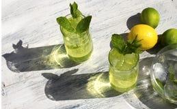 Bebida de la fruta cítrica Foto de archivo libre de regalías