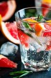 Bebida de la fruta cítrica Imágenes de archivo libres de regalías