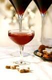 Bebida de la Navidad imagen de archivo