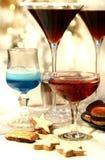 Bebida de la Navidad imagenes de archivo