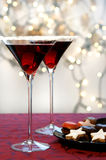Bebida de la Navidad Imágenes de archivo libres de regalías
