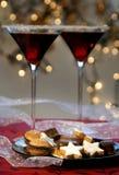 Bebida de la Navidad fotografía de archivo