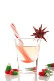 Bebida de la Navidad Fotos de archivo