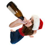 Bebida de la Navidad Fotografía de archivo libre de regalías