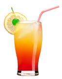 Bebida de la salida del sol del Tequila Fotografía de archivo