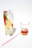 Bebida de la salud de la dieta del Detox Imagenes de archivo