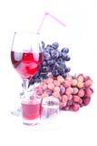 Bebida de la uva imagen de archivo