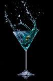 Bebida de Martini Fotografía de archivo libre de regalías