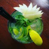 Bebida de Mockaholic Fotografia de Stock Royalty Free