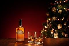 Bebida de Navidad Imágenes de archivo libres de regalías