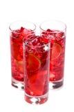 Bebida de restauración del hielo fotografía de archivo