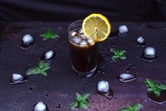 Bebida de restauración del verano fotos de archivo