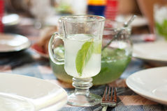 Bebida de restauración Fotografía de archivo