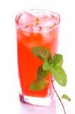 Bebida de Rosa com hortelã imagem de stock royalty free