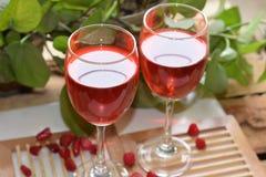 Bebida de Rose Fotos de archivo libres de regalías