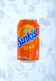 Bebida de Sunkist Foto de archivo