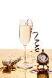 Bebida del Año Nuevo Imagen de archivo